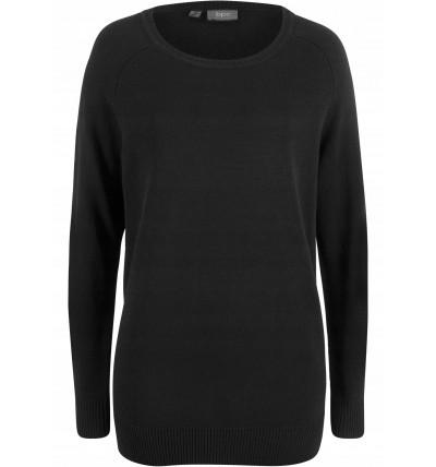 Sweter damski klasyczny czarny