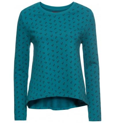 Bluza damska niebieska z...