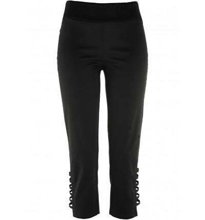 Spodnie damskie 3/4 czarne...
