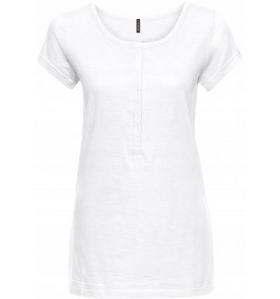 Bluzka damska cienka biała