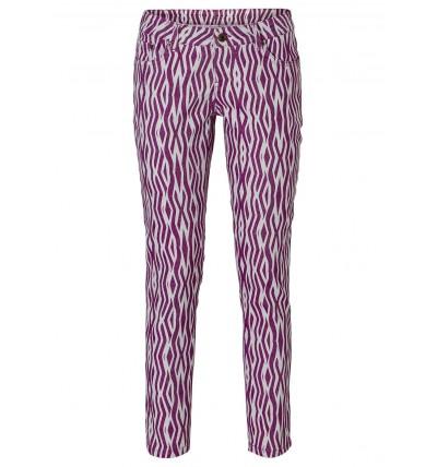 Spodnie damskie 7/8 fioletowe