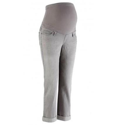 Spodnie ciążowe jeansy szare