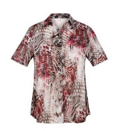 Bluzka damska koszulowa z...
