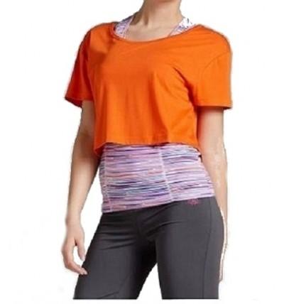 Bluzka pomarańczowa + top...