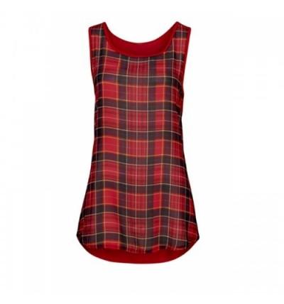 Bluzka damska czerwona z...