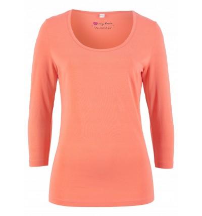 T-shirt damski pomarańczowy