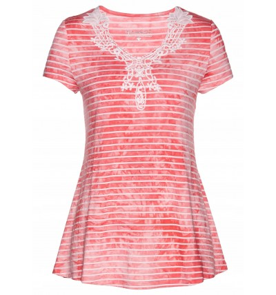 Bluzka damska letnia różowa...
