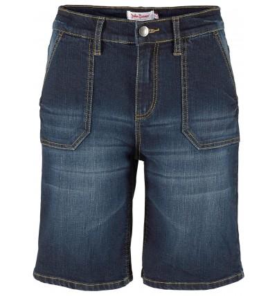 Bermudy damskie jeansowe na...