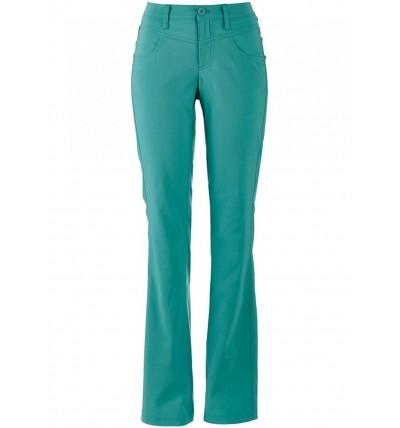Spodnie damskie długie zielone