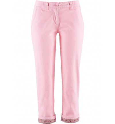 Spodnie damskie 3/4 różowe...