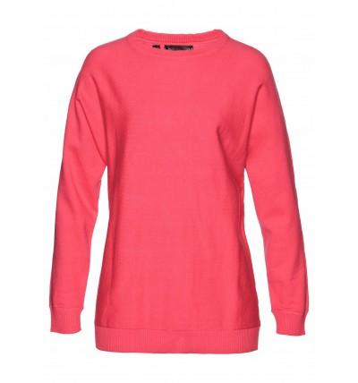 Sweter damski różowy