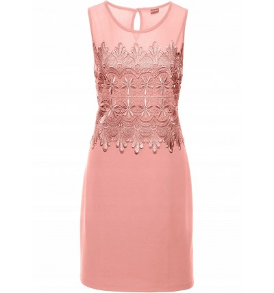 Sukienka damska różowa z...