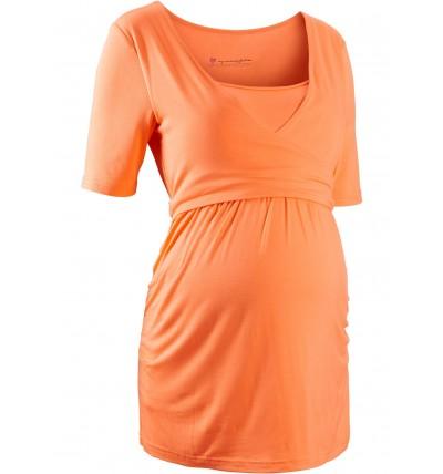 Bluzka ciążowa pomarańczowa...
