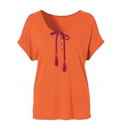 Bluzka damska pomarańczowa...