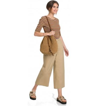 Spodnie damskie lniane 7/8...